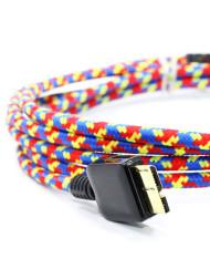 Eastern Collective Confetti USB3 Cable